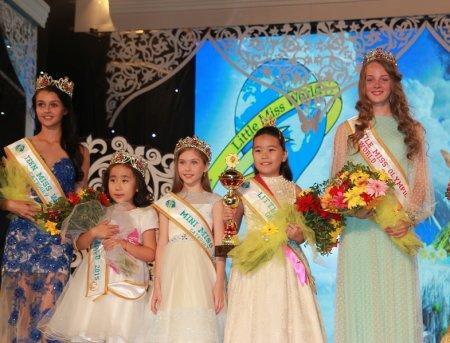 Акмеир Али из Актау стала обладательницей Гран-при международного конкурса «Little Miss World 2015»