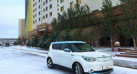 Первый отечественный электромобиль начали тестировать в правительстве РК