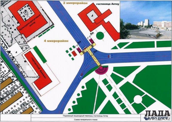 Акимат Актау поддержал проект полиции по строительству в областном центре развилок