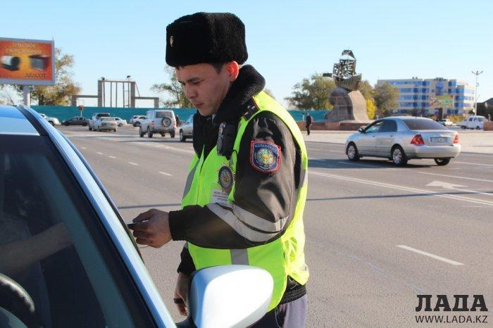 В Мангистау определили лучшего сотрудника дорожно-патрульной полиции
