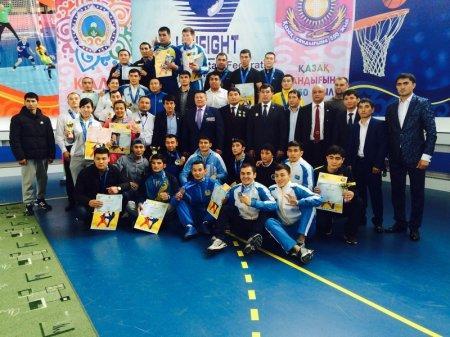 Бойцы спецподразделений полиции Мангистау привезли золотые медали с Кубка Казахстана по универсальному бою