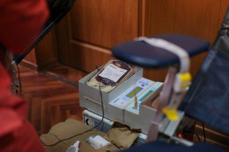 Сотрудники Мангистауского департамента по чрезвычайным ситуациям бесплатно сдали кровь