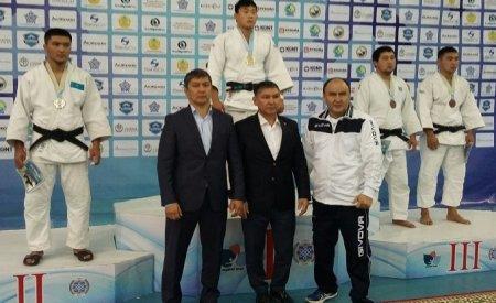 Спортсмен из Актау Мейрамбек Жанабай стал серебряным призером международного турнира по дзюдо