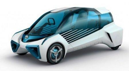 Toyota представила водородный автомобиль-электростанцию на колесах