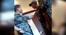 В сети появилось видео с шокирующим поведением командира Нацгвардии