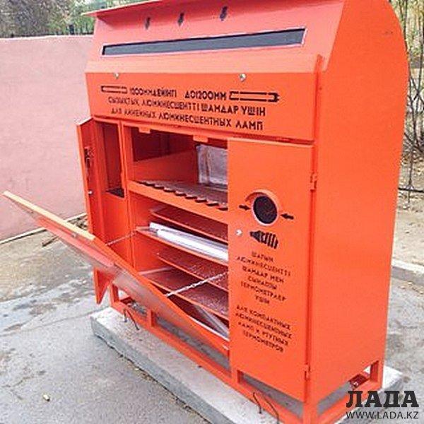 Азамат Нурлиев: В Актау подростки взламывают контейнеры для сбора ртутьсодержащих ламп