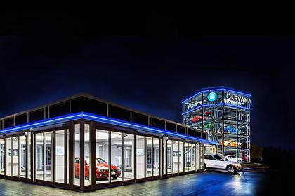 В США запустили пятиэтажный автомат по торговле автомобилями