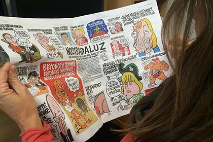 МК отомстил Charlie Hebdo карикатурой об изнасиловании главного редактора