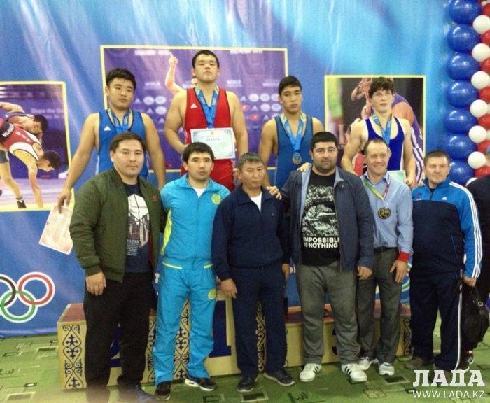 Актауский борец Кайсар Турбергенов завоевал золотую медаль на чемпионате Казахстана