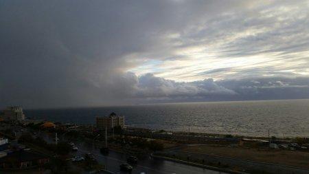 Фотографии радуги в Актау из социальных сетей