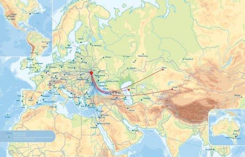 «Международные Авиалинии Украины» свяжут Киев и Актау