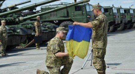 Иностранцам разрешили служить в армии Украины