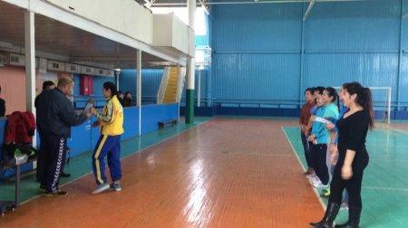 Чемпионат области по гиревому спорту среди девушек прошел в Актау