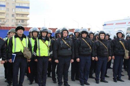 В Мангистауской области стартовали республиканские командно-штабные учения «Қыс 2015»