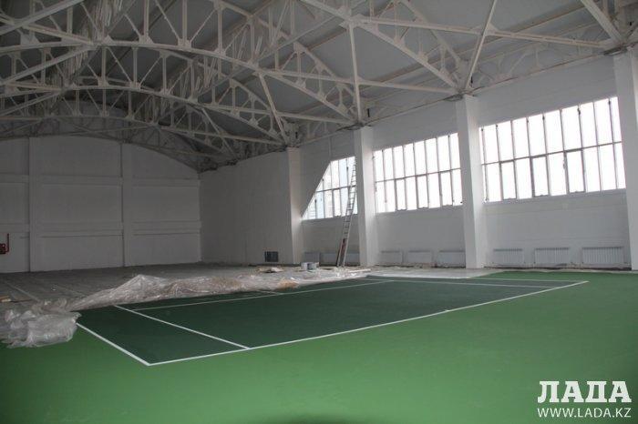 В конце ноября в Актау откроется теннисный центр
