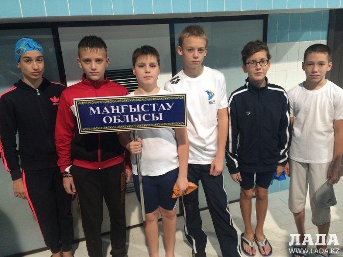 По итогам года актауский спортсмен Андрей Агуцков занял второе место в рейтинге юных пловцов республики