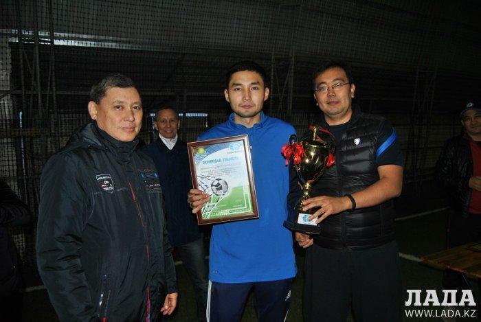 Мангистауские связисты заняли второе место на соревнованиях по мини-футболу в Шымкенте