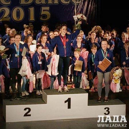 Серебряными призерами стали спортсменки из Актау на международном турнире по Pole Dance