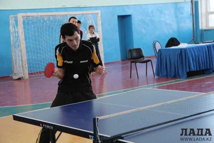 В республиканском турнире по настольному теннису в Жанаозене приняли участие 64 спортсмена