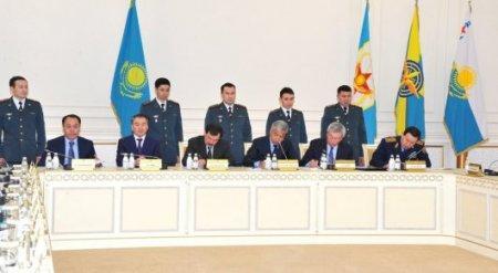 Главы силовых ведомств Казахстана заключили соглашение