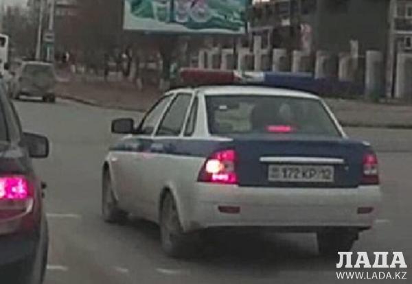 ДВД Мангистауской области: В отношении  ставших героями видео полицейских начато служебное расследование
