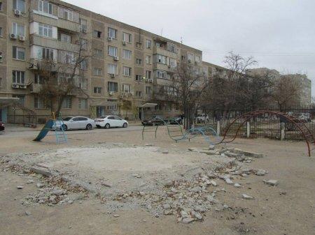 В Актау демонтировали построенный на детской площадке мясной павильон