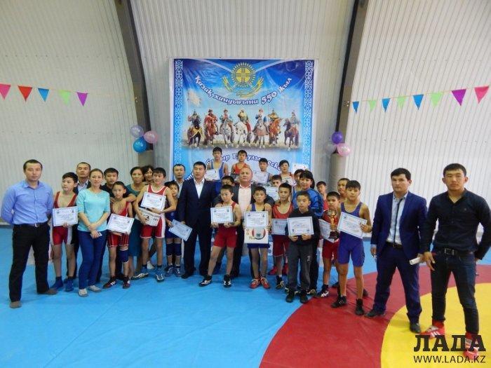 В селе Баскудук прошел областной турнир по вольной борьбе