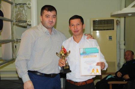 В Актау завершились областные соревнования по боксу