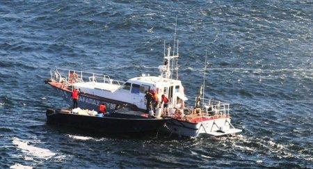 Казахстанские корабли усилили наблюдение после ЧП на платформе на Каспии