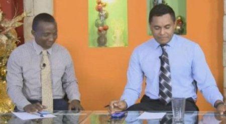 Призрак появился в прямом эфире гондурасского телеканала