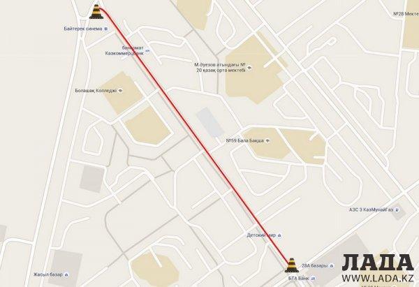 Бексултан Шалабаев: Установка гранитных бордюров производится на сэкономленные на ремонте дорог в Актау средства