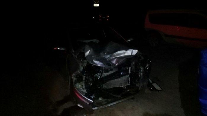 На  автотрассе в Мангистауской области столкнулись Lada Largus и Kia Rio
