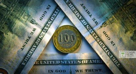 Курс доллара поднялся до 337,8 тенге по итогам утренней сессии KASE