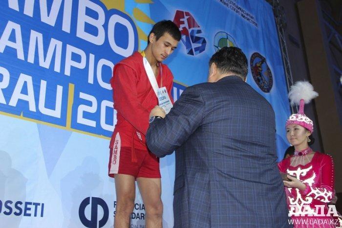 Актауские спортсмены завоевали пять медалей на чемпионате Азии по спортивному и боевому самбо