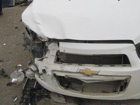 На нерегулируемом перекрестке в Мангистау столкнулись три автомобиля