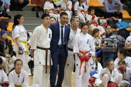 Более 200 спортсменов выступают на чемпионате и кубке Казахстана по кекушинкай карате в Актау