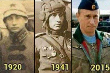 Западные СМИ доказали, что Владимир Путин путешествует во времени