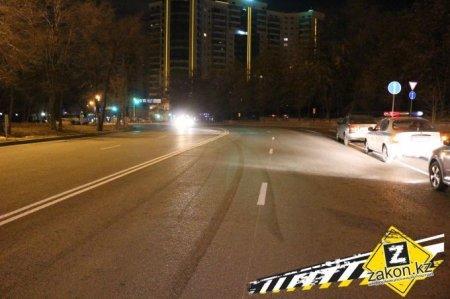 Драка с полицейским произошла после ДТП в Алматы