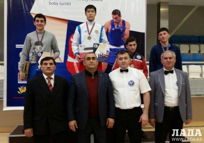 Мангистауские боксеры привезли из Баку золотые медали
