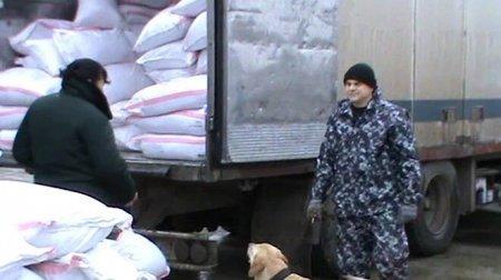 На Астраханской таможне задержали грузовик с девятью тоннами насвая