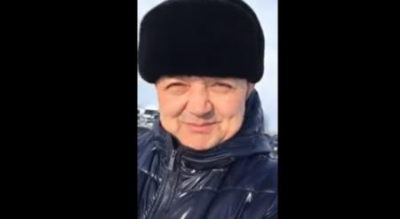"""Застрявший в снежном плену депутат передал """"привет"""" Божко"""