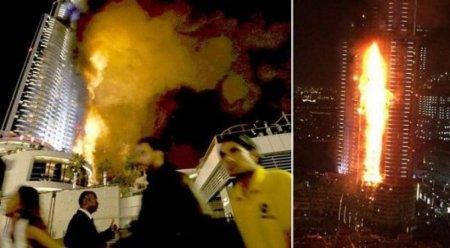 Пожар в пятизвездочном отеле-небоскребе Дубая затронул 40 этажей - глава гражданской обороны