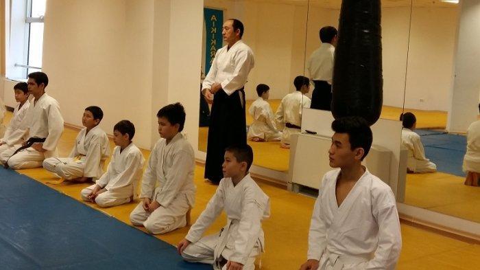 Основатель стиля айки-каратэ провел обучающий семинар в Актау