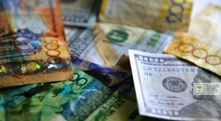 Курс доллара на первой в 2016 году сессии составил 343,11 тенге