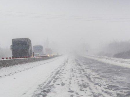 В Атырауской области закрыт ряд дорог республиканского значения