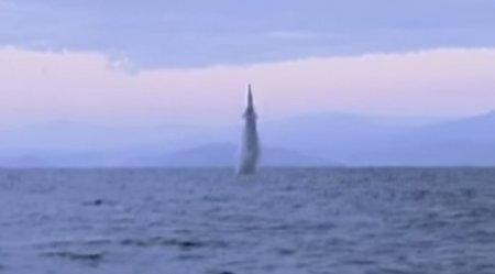 Северная Корея обнародовала новое видео испытания баллистической ракеты