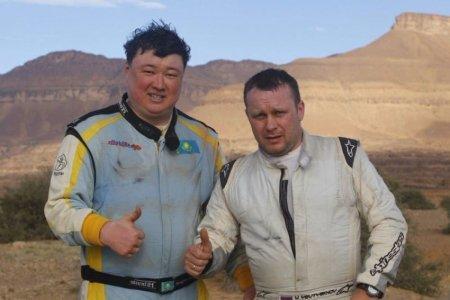 Гонку «Africa Eco Race» казахстанский экипаж завершил первым