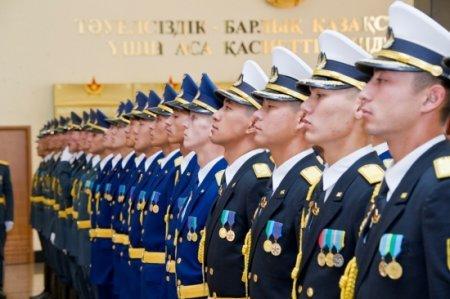 Сотрудники силовых структур Казахстана вышли из ЕНПФ