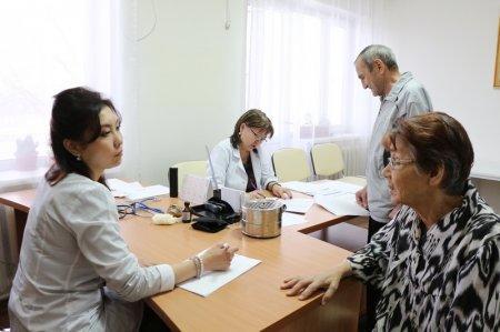 Общественный фонд «Мы люди, мы вместе» организовал бесплатное медицинское обследование жильцов Дома престарелых в Актау