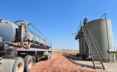 Цена на нефть из Северной Дакоты опустилась ниже нуля